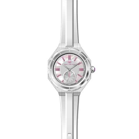 TechnoMarine Women's TM-118004 White Silicone Watch