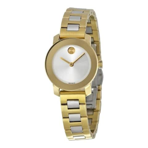 Movado Women's 3600336 'Bold' Two-Tone Stainless Steel Watch