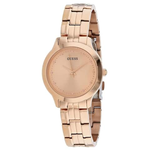 Guess Women's W0989L3 'Chelsea' Rose Gold-Tone Stainless Steel Watch