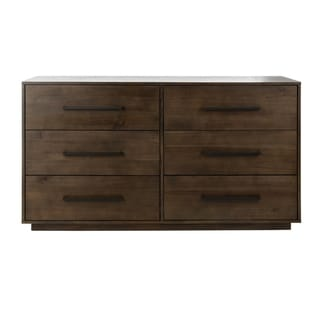 Safavieh Couture Lawson 6-drawer Dark Chocolate Brown Dresser