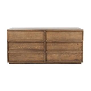 Safavieh Couture Zeus Contemporary 6-drawer Natural Wood Dresser