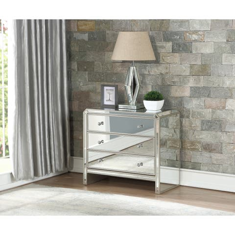 Somette Champagne Reflections 3-drawer Chest