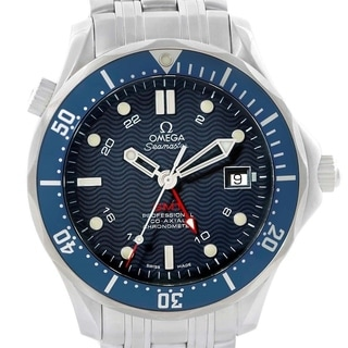 Link to Omega Men's 2535.80.00 'Seamaster 300 ' Stainless Steel Watch Similar Items in Men's Watches