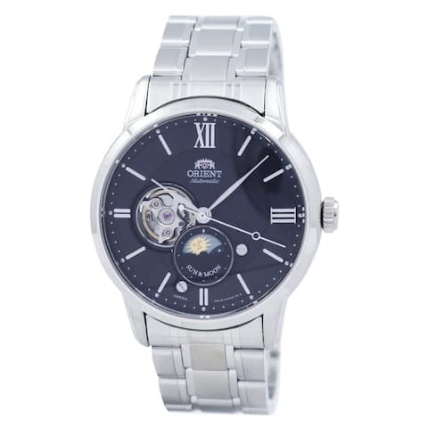 Orient Men's RA-AS0002B Stainless Steel Watch