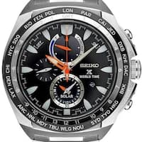 Seiko Men's SSC487 'Prospex' Chronograph Stainless Steel Watch