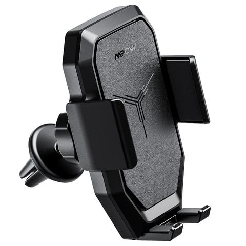 Mpow air vent wireless charging car mount Qi wireless fast charge car phone holder for iPhone X/8/8plus