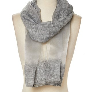 Link to Viscose Sheer-Accent Solid Scarf for Woman - Large Similar Items in Scarves & Wraps