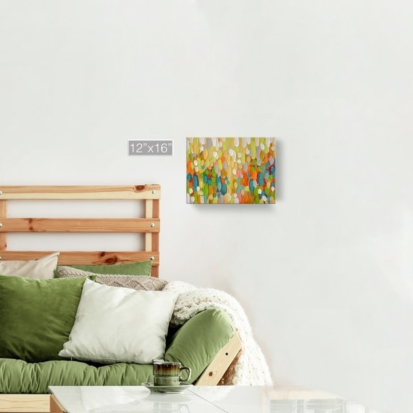 Copper Grove Multicolored Abstract Canvas Wall Art