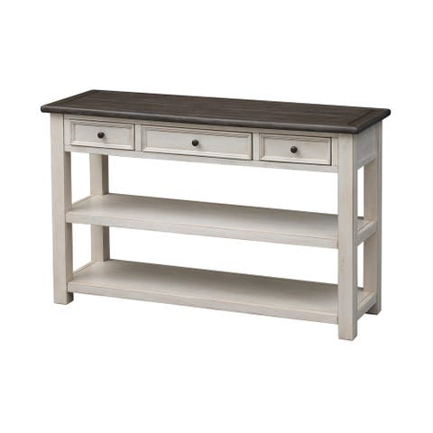 St. Claire Three Drawer Console Table