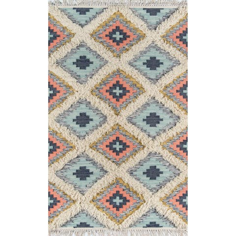 Novogratz by Momeni Indio Templin Wool Hand Made Area Rug