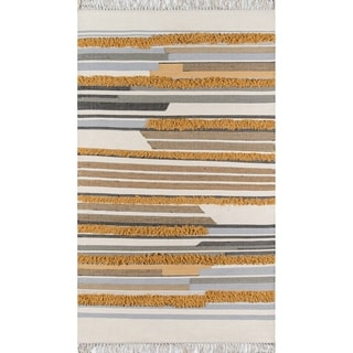 Novogratz by Momeni Indio Feliz Wool Hand Made Area Rug