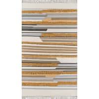 Novogratz by Momeni Indio Feliz Wool Hand Made Area Rug