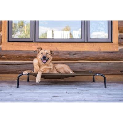FurHaven Pet Elevated Reinforced Cot Dog Bed
