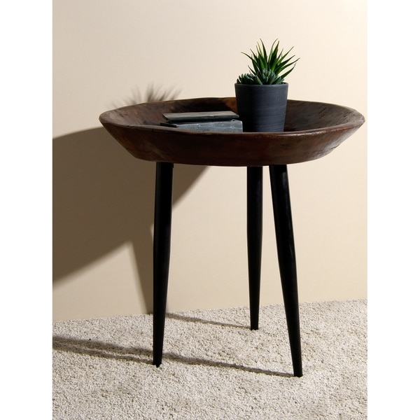 Aurora Home Glen Wood Parat Table