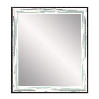 Industrial Sage Farmhouse Accent Mirror - Multi