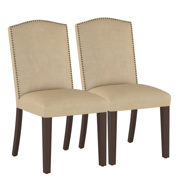 Skyline Furniture Microsuede Parsons Dining Chair (Set of 2)