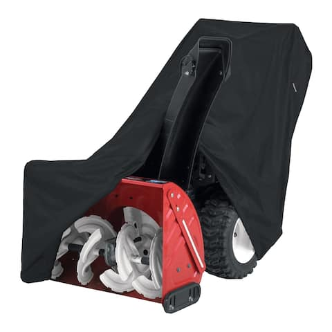 Classic Accessories Two-Stage Snow Thrower Cover with Tall Chute