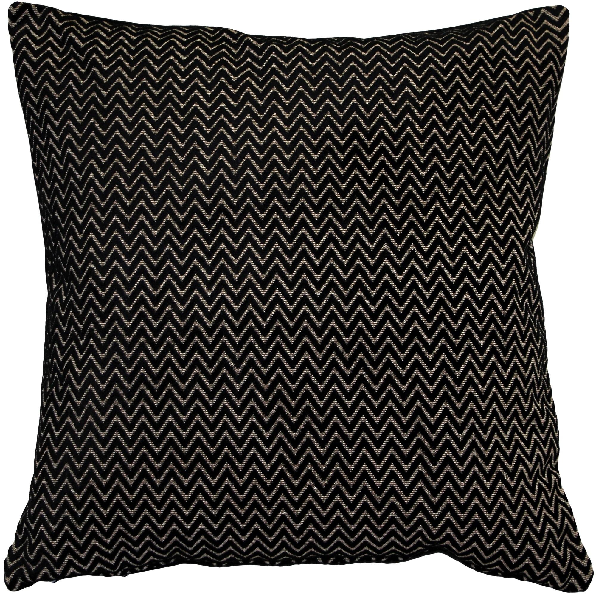 Pillow Decor - Art Deco Stripes Velvet Throw pillow 20x20