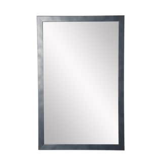 Slim Cut Gunmetal Accent Mirror - Gun Metal