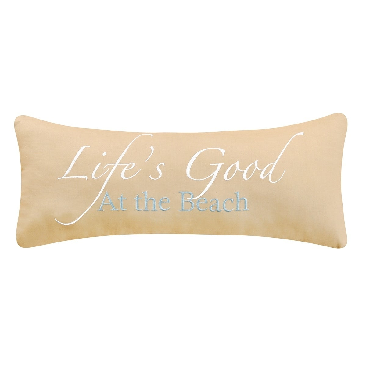 Lifes Good At The Beach 8 x 20 Pillow