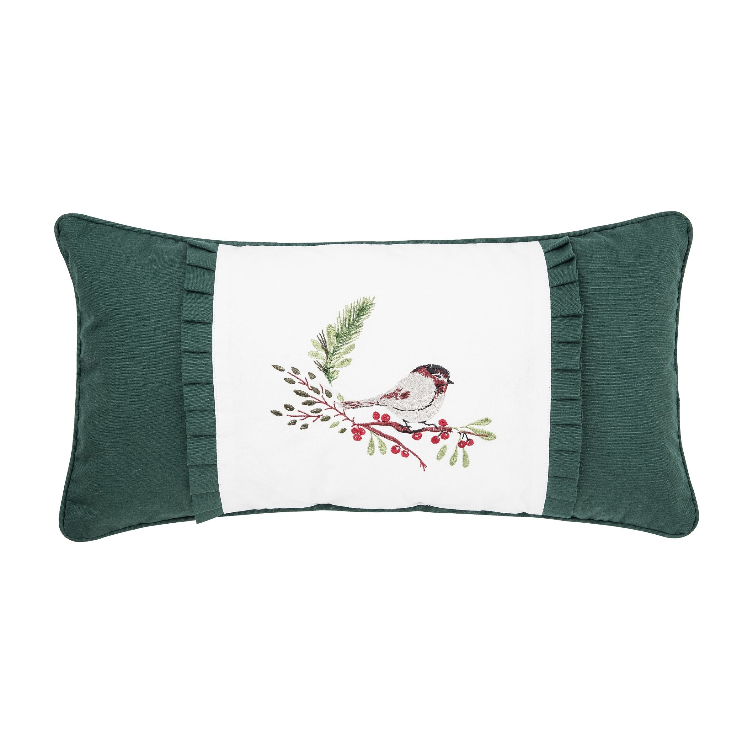Chickadee or Cardinal 12 x 24 Pillow (Chickadee)
