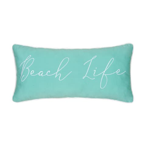 Beach Life 12 x 24 Pillow