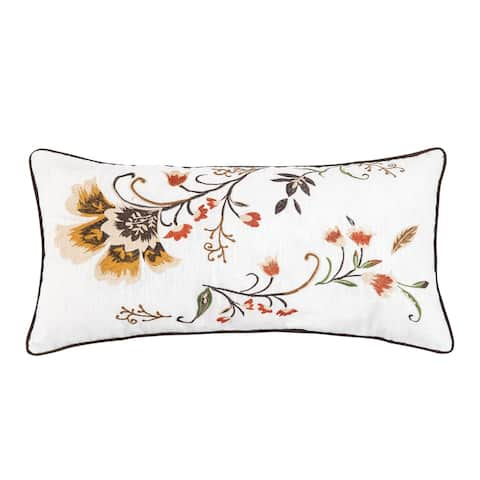 Autumn Bloom 12 x 24 Decorative Accent Throw Pillow