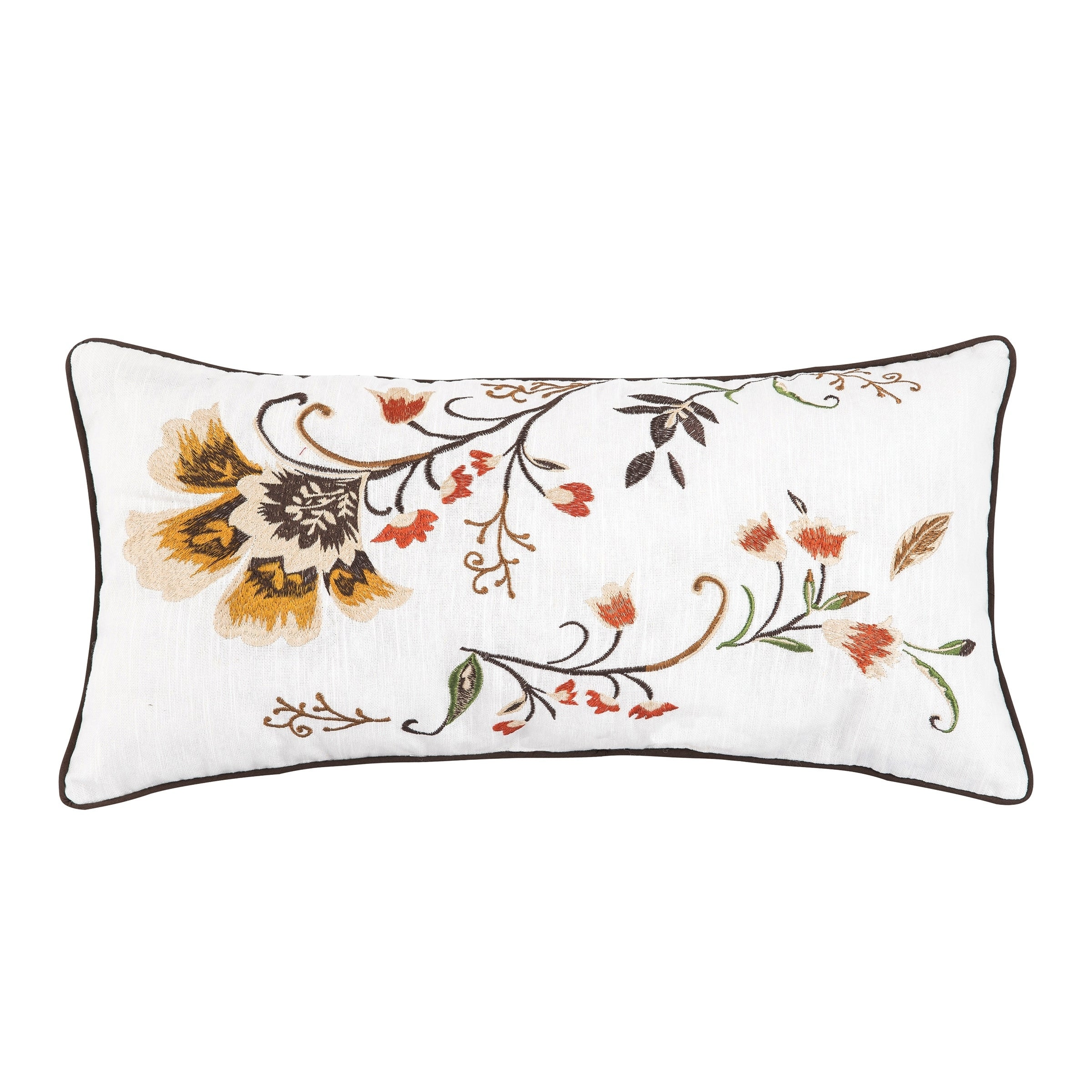 Autumn Bloom 12 x 24 Pillow