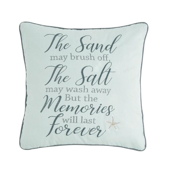 Memories Forever 18 x 18 Pillow