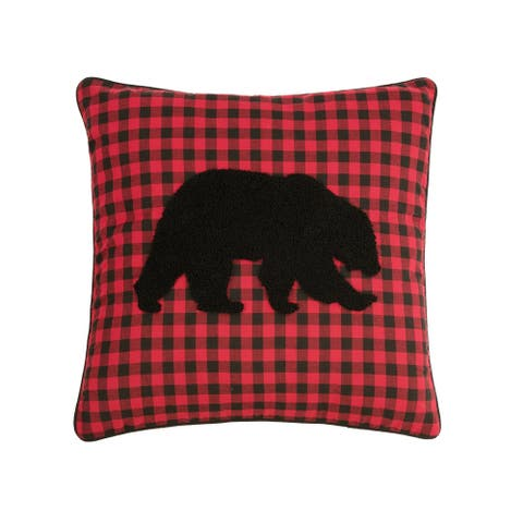 Woodford 18 x 18 Decorative Accent Throw Pillow