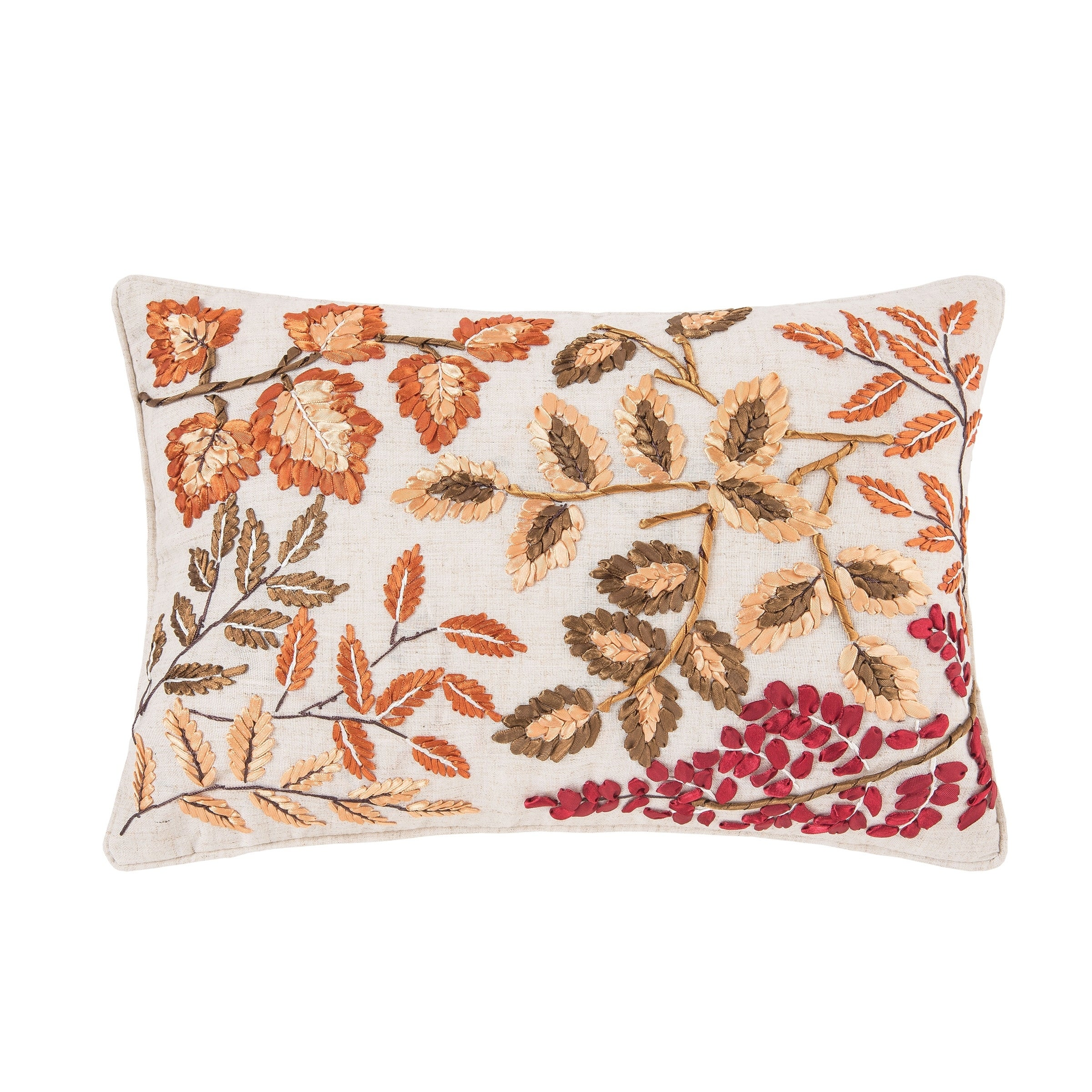 Falling Leaves 12 x 18 Pillow