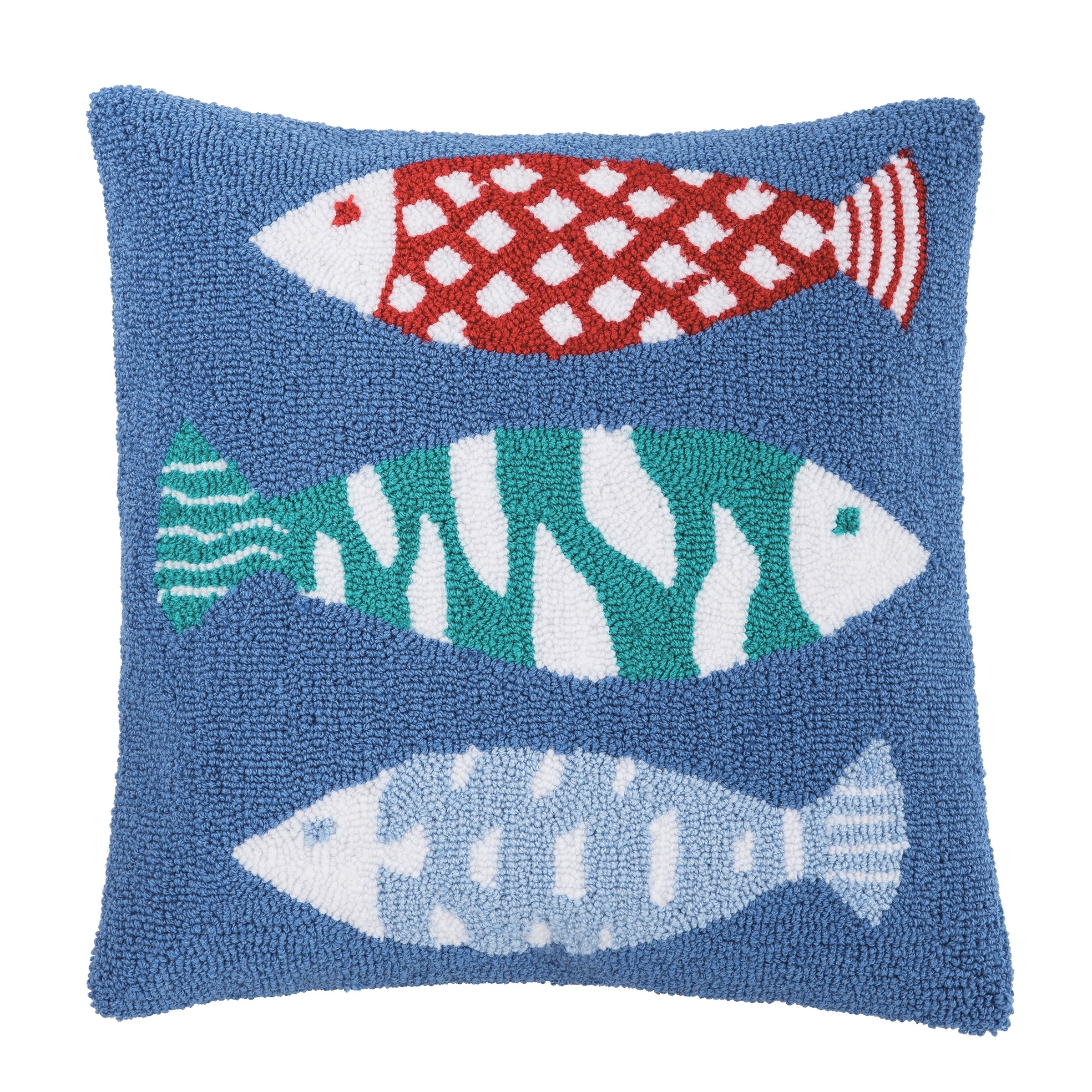 Harpswell Fish 18 x 18 Pillow