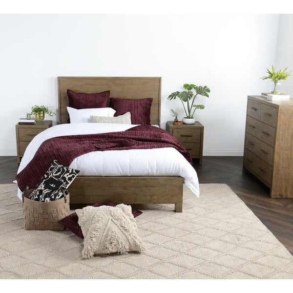 Avoca Reclaimed Pine Bed By Kosas Home