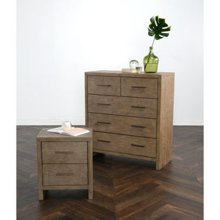 Carbon Loft Enos Reclaimed Pine 5-drawer Dresser