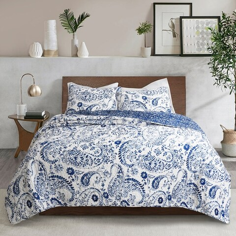 Lush Decor Erindale 3 Piece Quilt Set