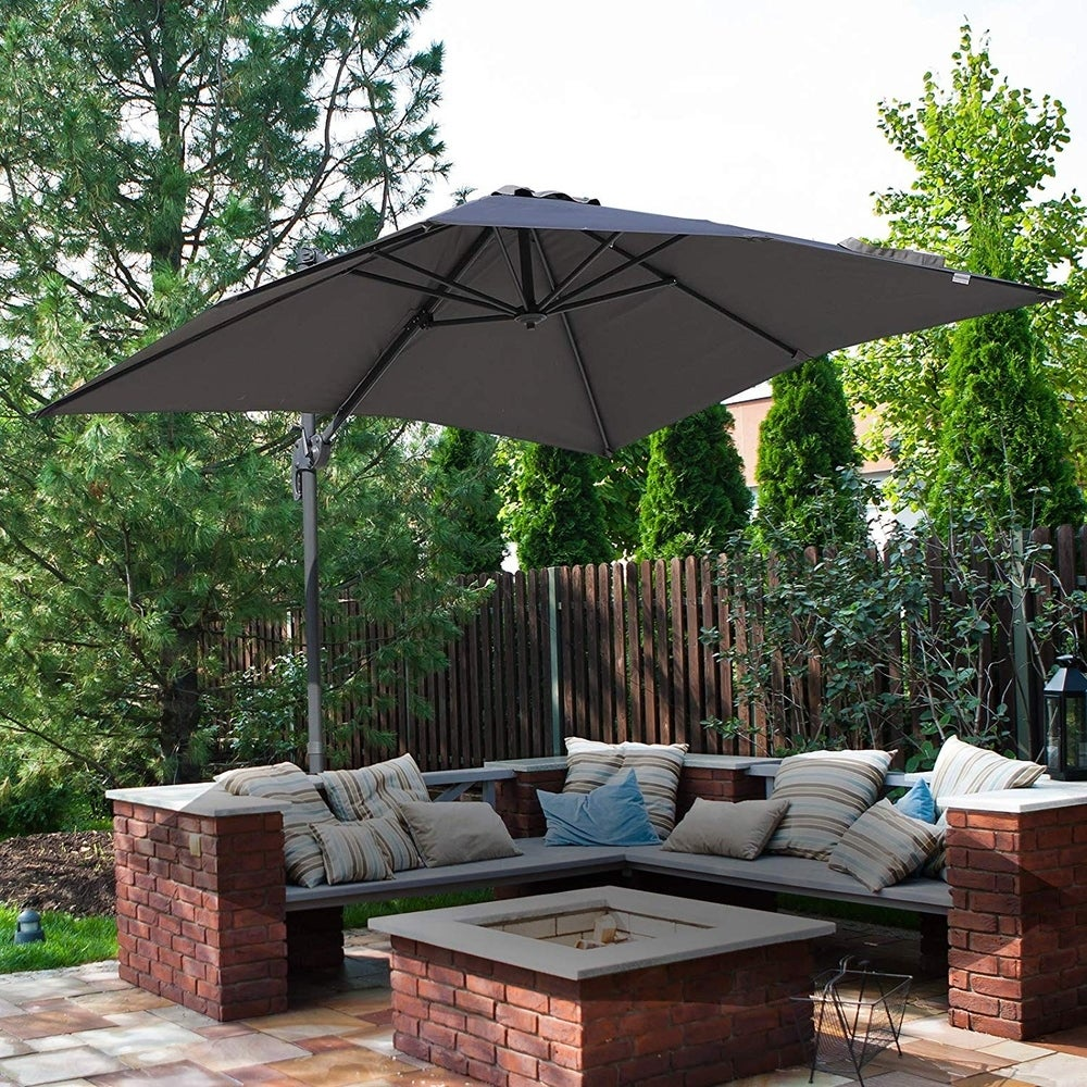 Cantilever Offset Patio Umbrellas