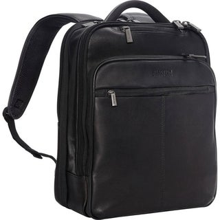 Kenneth Cole Reaction 'Manhattan' Colombian Leather Slim TSA Checkpoint-Friendly 16in Laptop Anti-Theft RFID Business Backpack