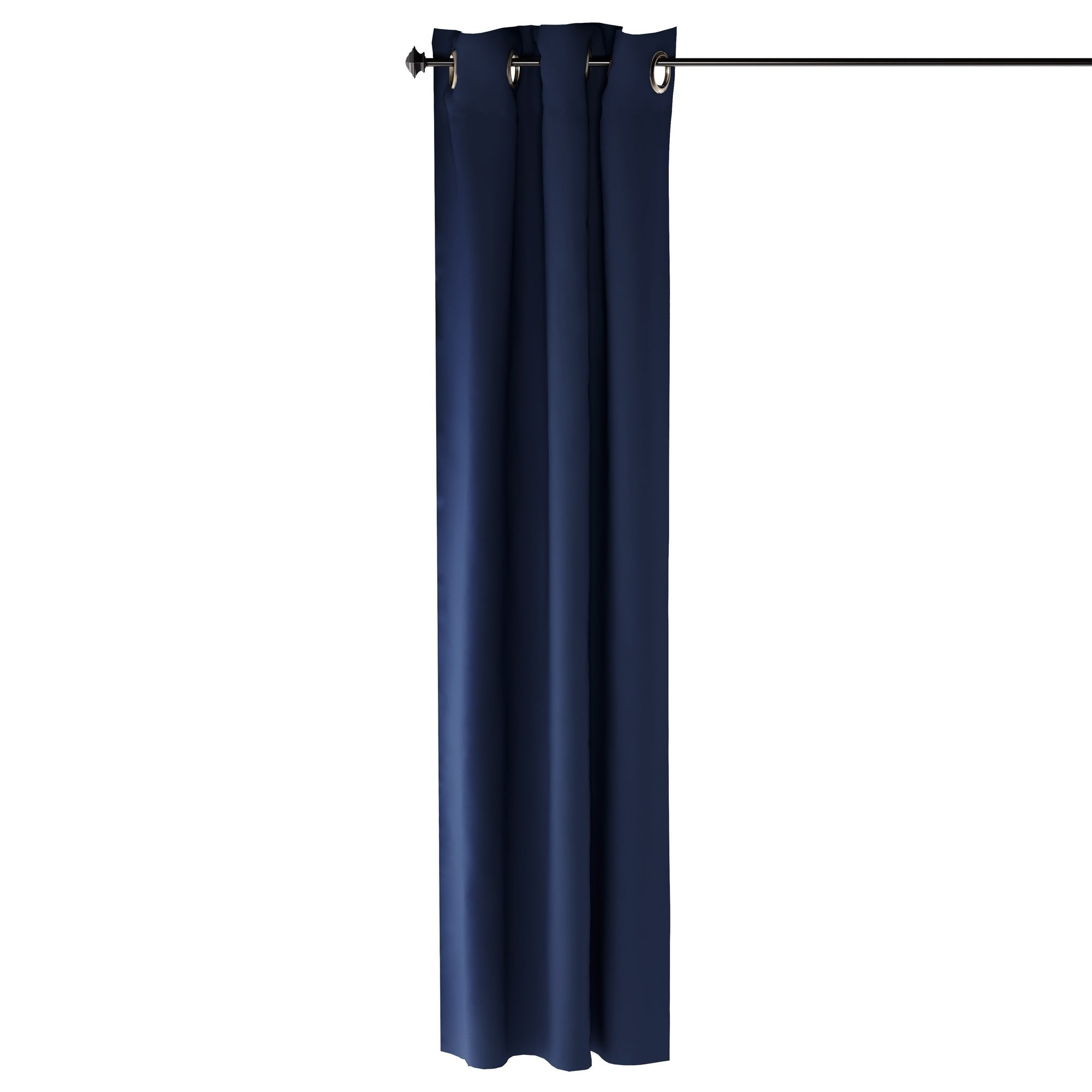 Furinno Collins Blackout Curtain 42x84 in. 2 Panels (Blue)