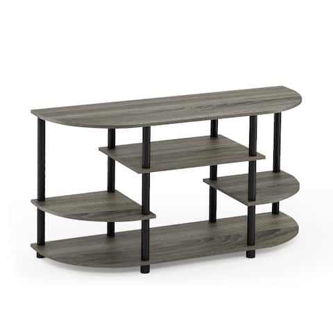 Furinno JAYA 15116 Simple Design Corner TV Stand
