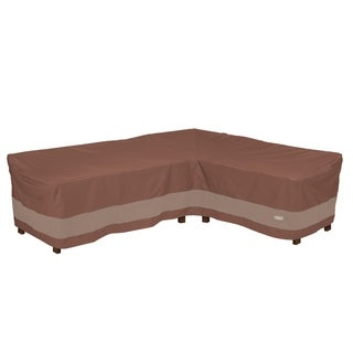 Duck Covers Ultimate Waterproof 104 Inch Patio Right-Facing Sectional Lounge Set Cover