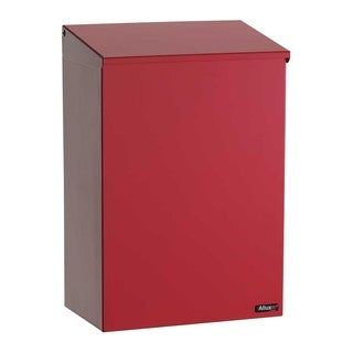 QualArc Allux 100 Top Loading Wall Mount Mailbox in Red