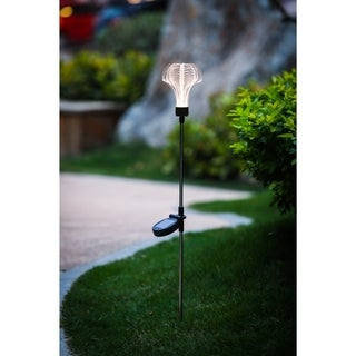 3D Heart Solar Light Stake