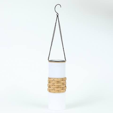 2.9in. Dia. Solar Hanging Accent Lantern