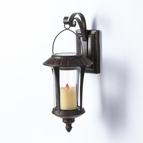 Grayton Hanging Solar Wall Sconce by Havenside Home