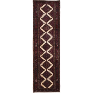 eCarpetGallery  Hand-knotted Koliai Red Wool Rug - 2'9 x 9'10