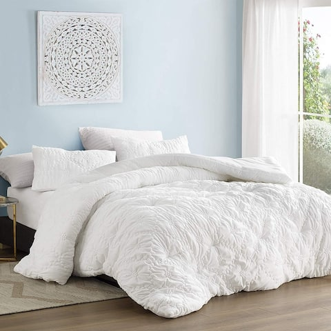 Farmhouse Morning Textured Oversized Comforter