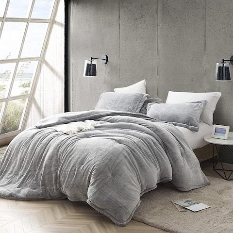Coma Inducer Frosted Black Oversized Comforter Set