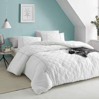 Le Blanc Textured Bedding - Oversized Comforter