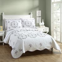Gwen Queen Quilt Set by Modern Heirloom, 3 Piece Set
