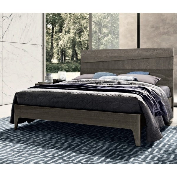 Shop Luca Home Silver Birch Modern Style Queen Bed Free
